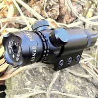 Tactical Green Beam Laser Sight With 20mm Picatinny Rail Mount Switch Hunting