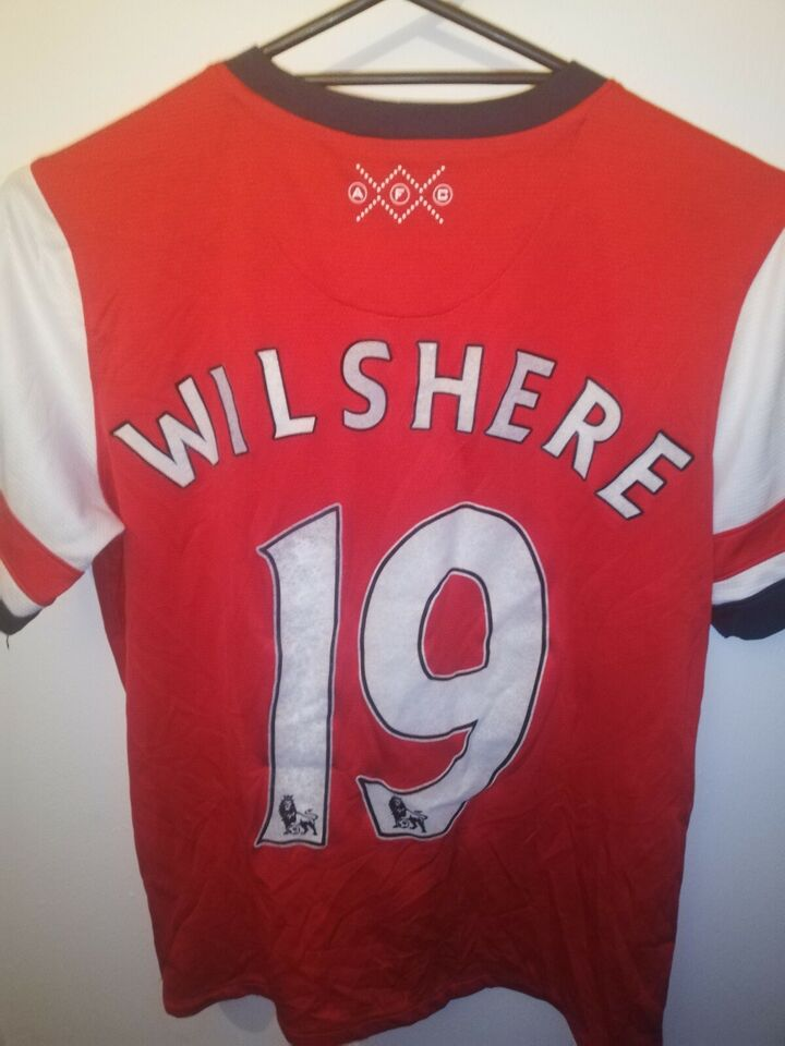 Fodboldtrøje, Jack wilshere arsenal trøje, Nike