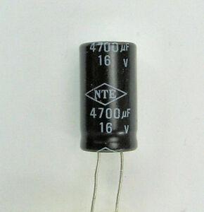 10 220 uF  16 volt electrolytic capacitors New stock Qty
