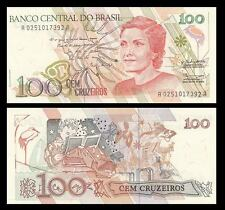Brazil - 100 new Cruzados - UNC currency note