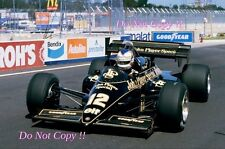 Nigel Mansell JPS Lotus 95T USA Grand Prix 1984 Photograph