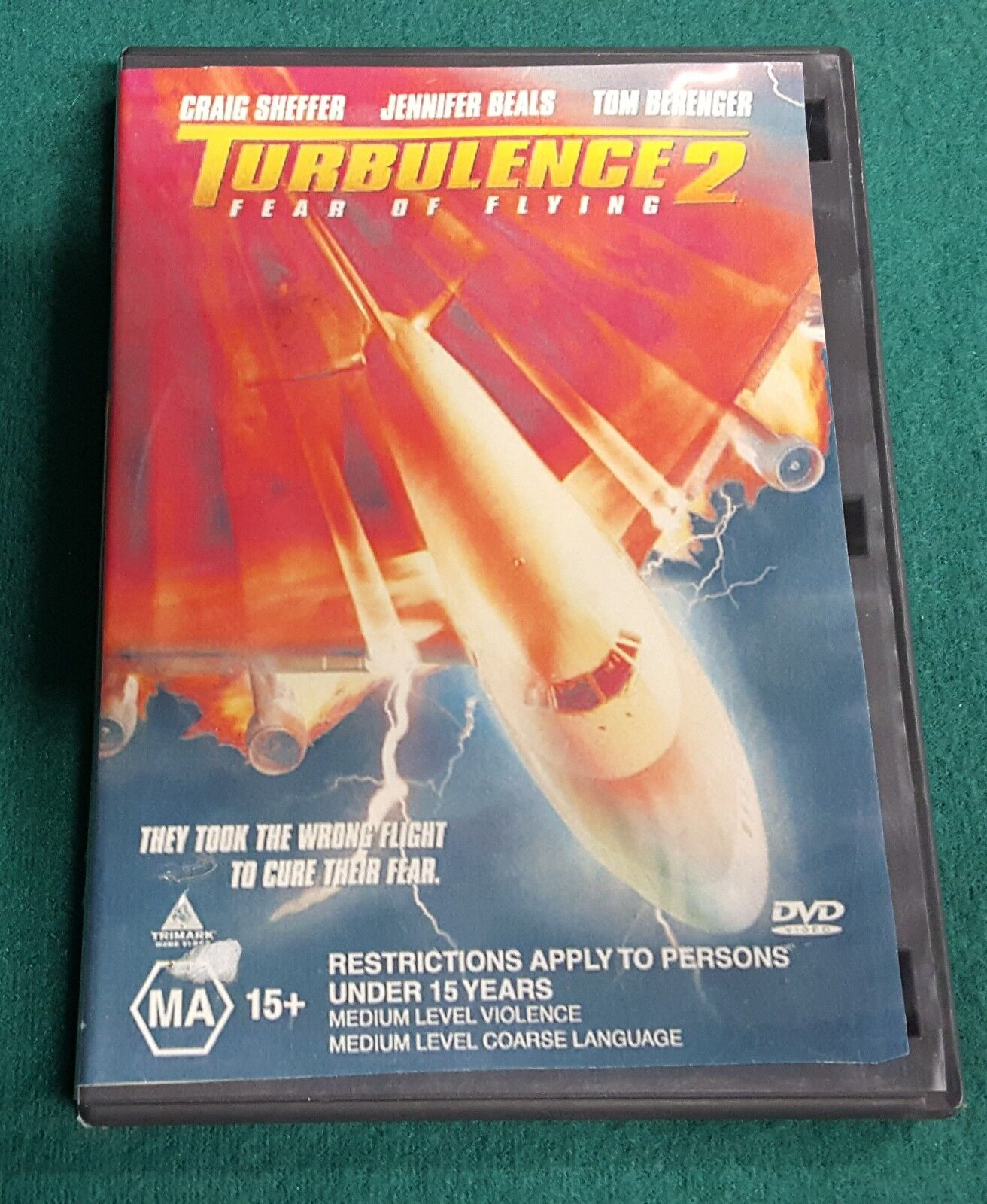 Turbulence 2: Fear of Flying (DVD, 2000) 1