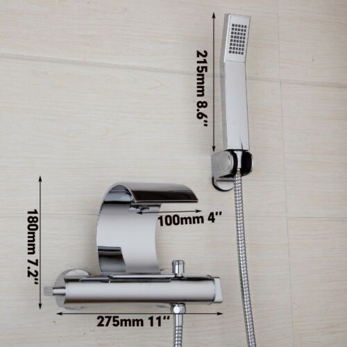 Bathtub Faucets Wall Mounted Shower Set Chrome Mixer Tap Handheld Shower tap