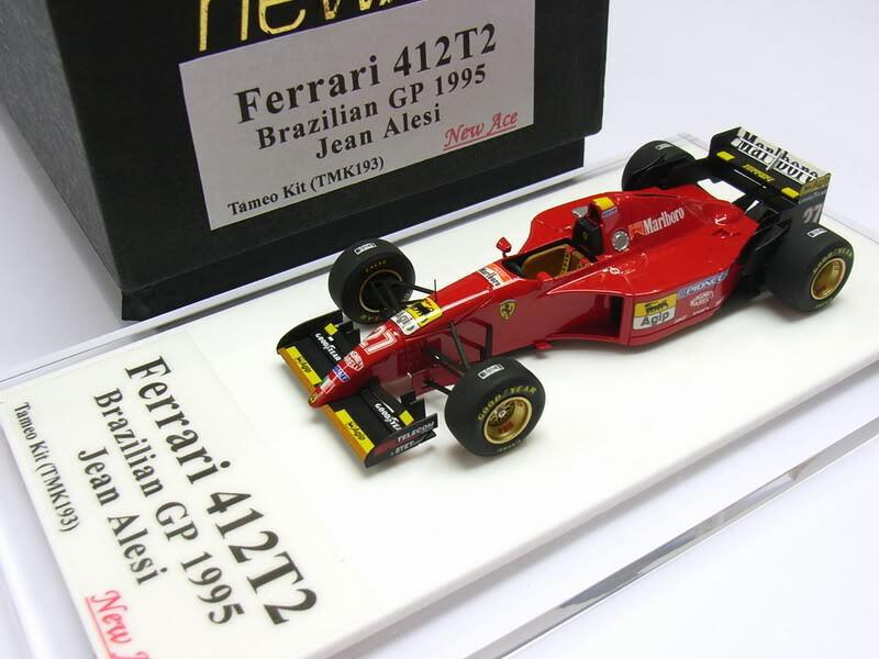 Ferrari 412T2 GP1995 brasileño Jean Alesi Tameo Kit 1 43 TMK193