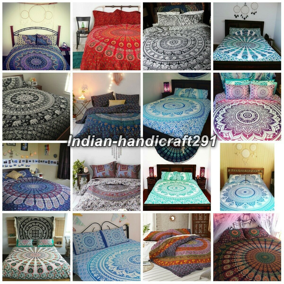 Quilt Cover Indian Mandala Duvet Cover Comforter Set Bedding Set Cotton Blanket