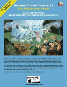 1x-Dungeon-Crawl-Classics-3-The-Mysterious-Tower-Used-Fine-dungeon-crawl-Class