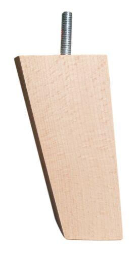 100//120 Möbelfüße Möbelfuß Holz Schrankfüße Schrankfuß Holz Buche