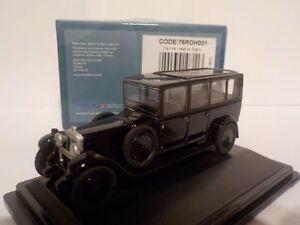 Daimler-Hearse-Negro-Oxford-Diecast-Escala-1-76-nuevo-Dublo-Ferrocarril