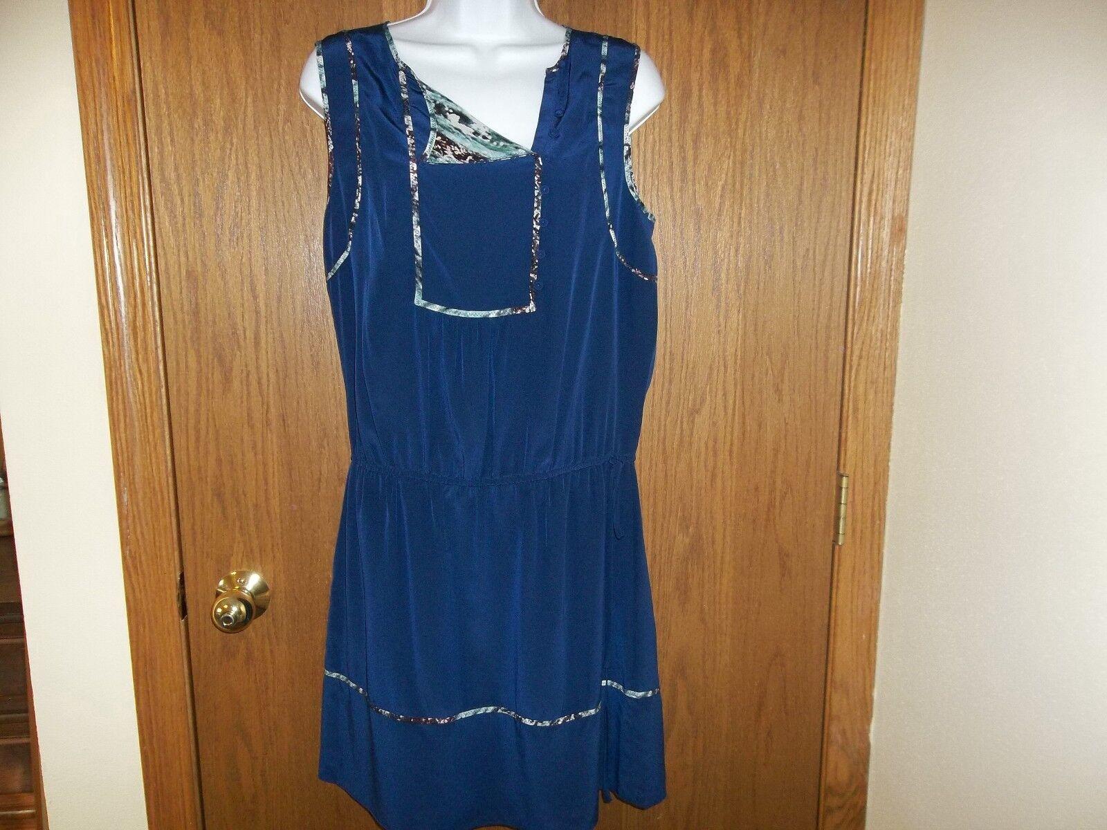 NEW WOMEN'S WOMEN'S WOMEN'S BCBG MAXAZRIA MAX AZRIA blueE SILK DRESS SIZE SMALL MSP  248.00 2be19b
