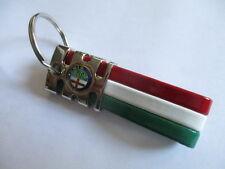 Schlüsselanhänger Keyring portachiave Alfa Romeo 166 157 147 Giulia italia chrom