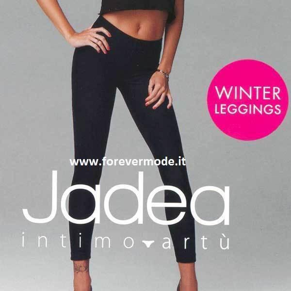 2019 Nuevo Estilo Leggings Donna Jadea Lungo In Caldo Cotone Felpato Invernale Pesante Art 4367