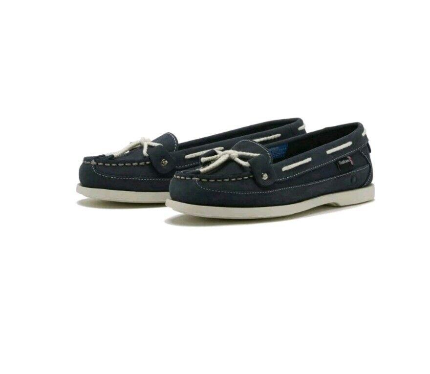 Chatham ALCIONE G2 LINEA DONNA Deck scarpe-Blu Scuro-Misure