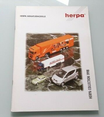 Catalogue Herpa 1998