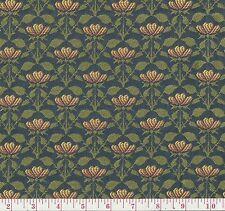 Fabricut Elvira Dutch Blue Floral Woven Home Decor Fabric BTY