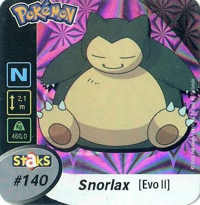 STAKS AIMANT POKEMON PANINI 50X50 N° 189 QUILAVA HOLO