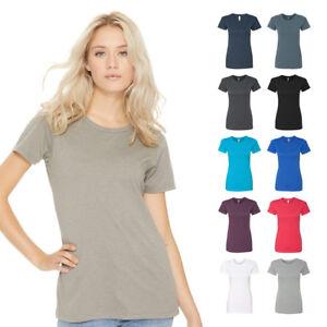 2d47ff6870c Next Level Women s CVC Crew Plain Tee Blank Soft T-Shirt 6610