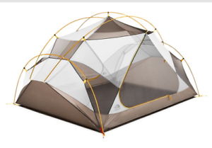 The North Face Triarch 3 Person 3 Season tent - Summit gold Weimaraner Brown