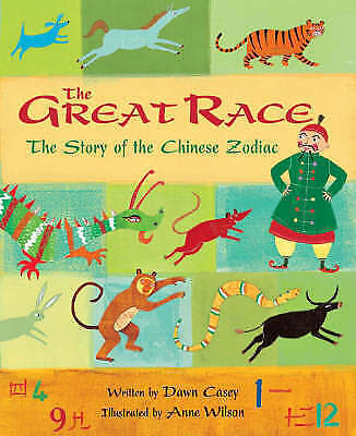"""""""AS NEW"""" The Great Race, Dawn Casey, Book"""