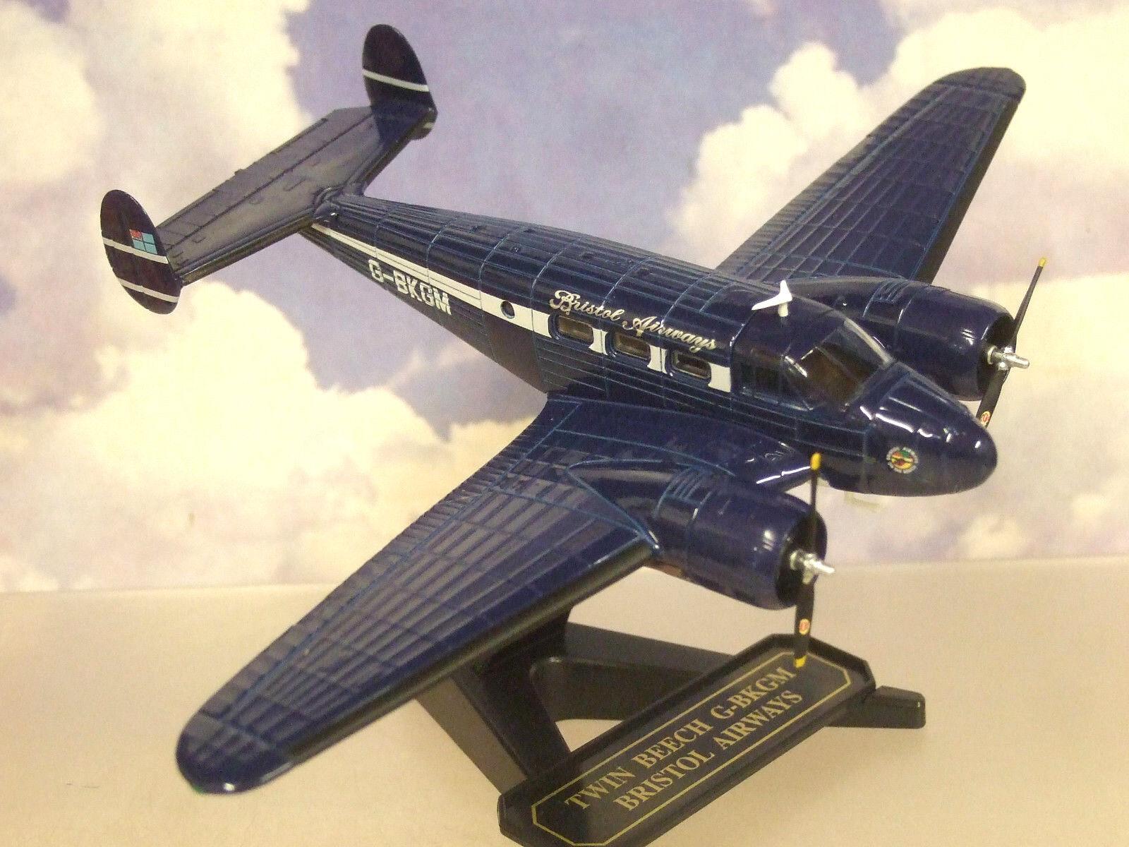 Oxford D   Cst 1 72 Beechcraft Modell 18 Doppel Buche Bristol Airways