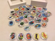 Mini-Loteria on Transparent Plastic Chips deck-54 Images (Mexican Bingo Deck)