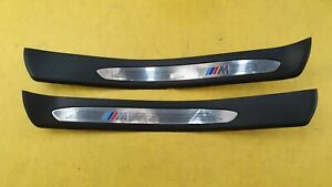 BMW E60 E61 520D 530D M SPORT 03-07 REAR SILL ENTRANCE COVER SET 7896861 7896862