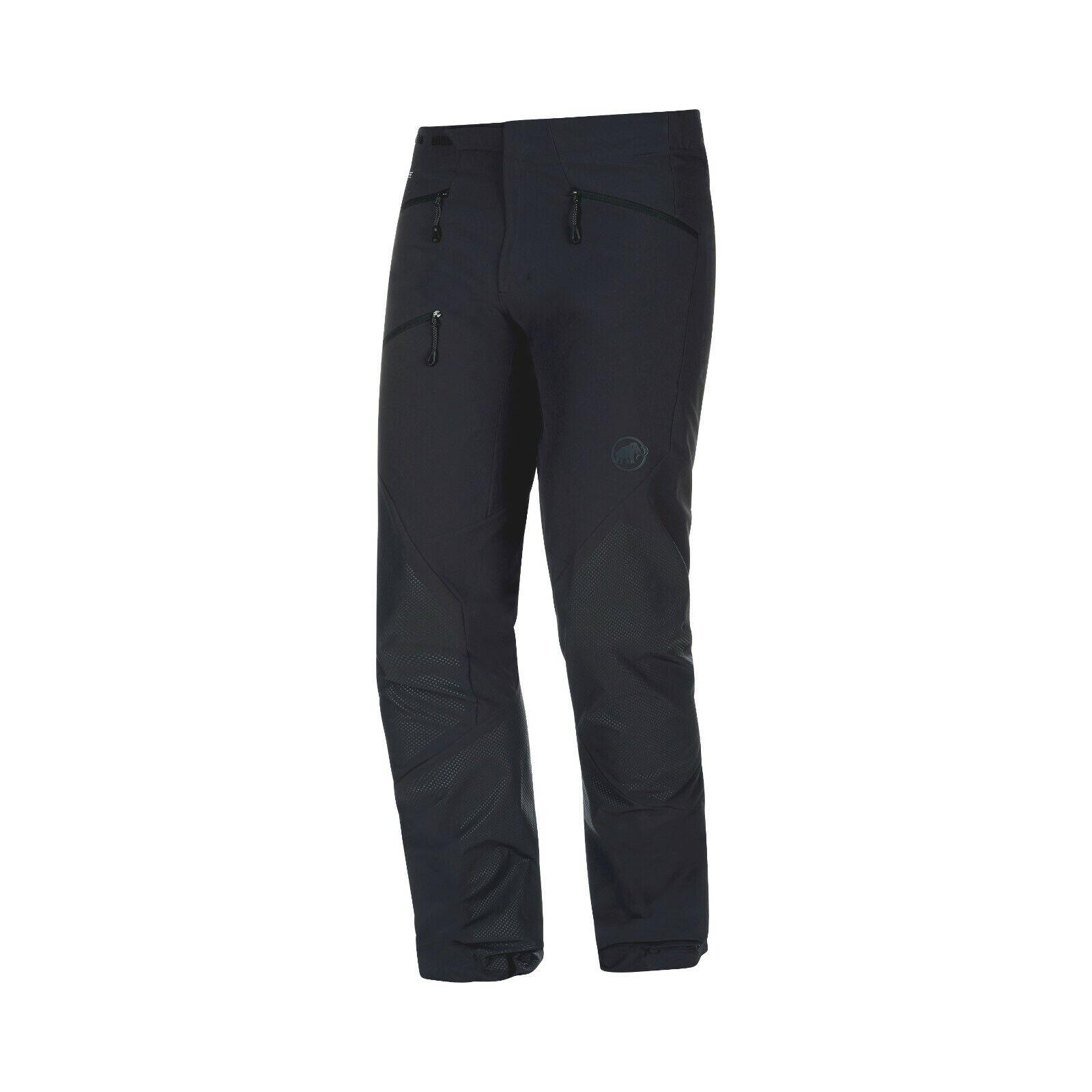 Mammut Courmayeur so Pantalones Hombre Ligero Softshell para Negro