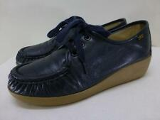 SAS $125 Siesta 0038-020 dark blue comfort occupational lace up Shoes womens 8 M