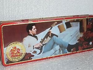Elvis-Presley-Candy-Tin-Box-2000-Russell-Stover-If-Every-Day-Was-Like-Christmas