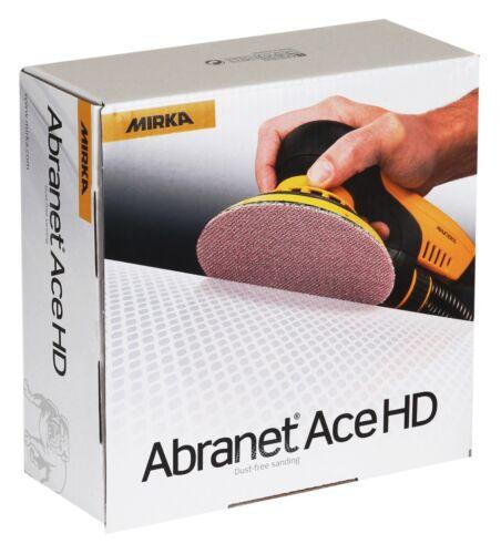 Mirka Abranet ACE HD Keramikkorn Schleifscheiben 150 mm Korn 40 VE-25