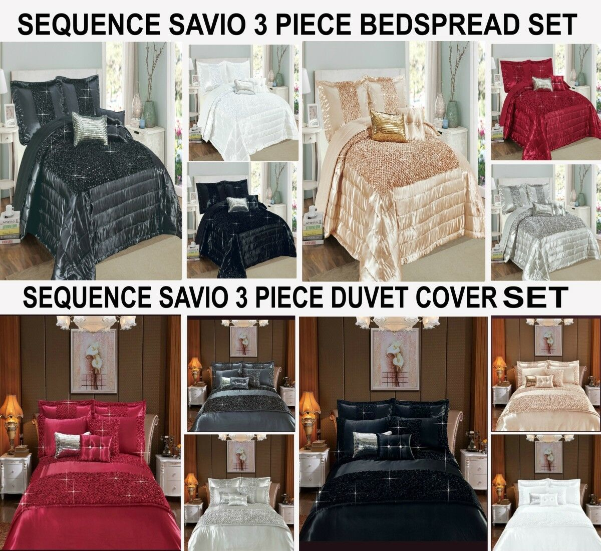 Duvet Cover Set & Bedspread Bedding Cover 3 Pieces Quilted Set With 2 Pillowcase