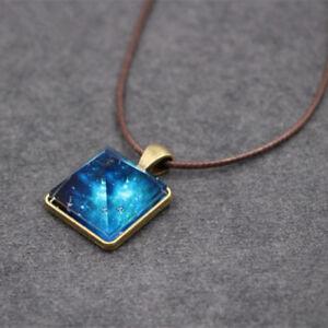 Men-For-Women-Dreamy-Fashion-Pyramid-Vintage-Crystal-Pendant-Luminous-Necklace