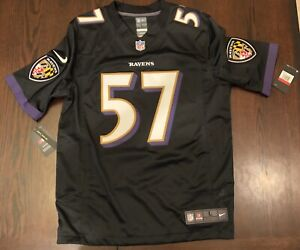 Details about New Mens Nike On Field Black Limited Jersey Baltimore Ravens C.J. Mosley #57 L