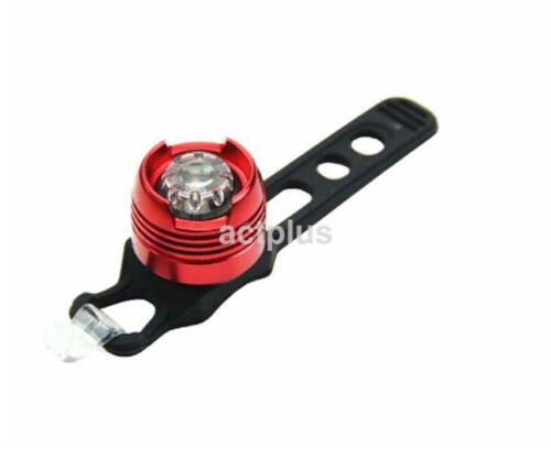 Fashion 4 Colors Flashing Lamp Red Light Rear Cycling Bicycle Safety Warning US