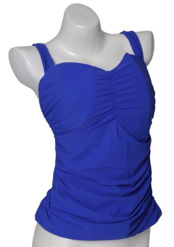 Profile By Gottex Women/'s E Cup Cobalt Tankini Top 0304 Sz 36E
