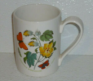 Portmeirion-Mug-Cup-BOTANIC-GARDEN-Gossypium-Barbadense-Cotton-Flower-4-034