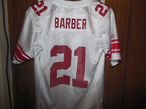 100% authentic 903ad 844ec Details about NFL Tiki Barber New York Giants Jersey Boys Large