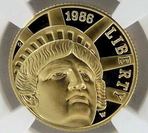 1989-W-LIBERTY-5-PROOF-GOLD-COIN-NGC-PF-69-ULTRA-CAMEO-West-Point-Mint