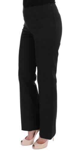 Pantaloni It44 Neri New Pants Us10 L Bencivenga Dritti Stretch B4wwEFvAq