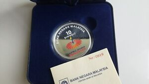 Asia-Pacific Economic Cooperation APEC Meetings 2020 In M'sia Silver Proof Coin
