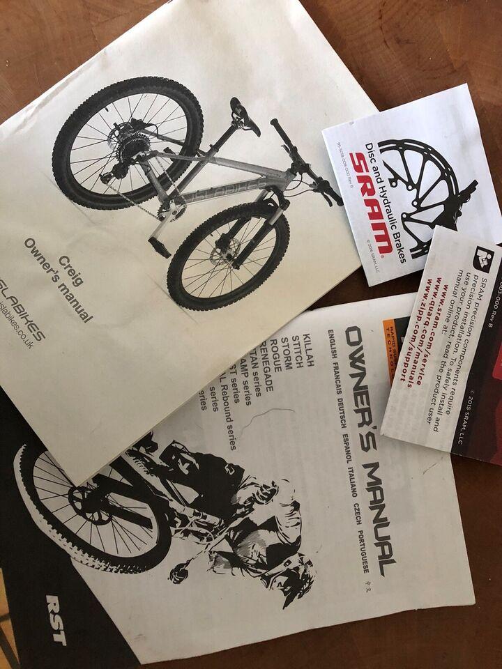 Unisex børnecykel, mountainbike, andet mærke