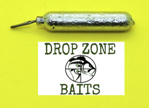 25-compter-3-16-OZ-Finesse-cylindre-DROP-SHOT-SINKERS-Poids