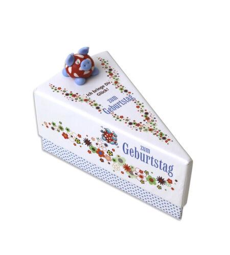 Geschenkschachtel Tortenstück Zum Geburtstag 1278