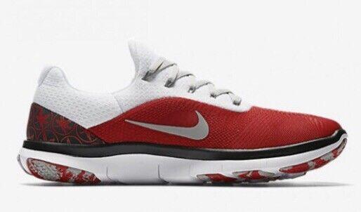 Nike Free Trainer V7 Week Zero Ohio State Buckeyes OSU AA0881-605 DS Sz 10.5