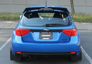 perrin gurney flap for subaru 2008 2014 sti hatchback 2009 2014 wrx hatchback ebay. Black Bedroom Furniture Sets. Home Design Ideas