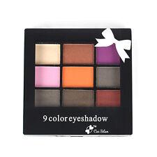 Fashion 9 Color Eyeshadow Makeup Palette Eye Shadow Makeup Cosmetic Beauty