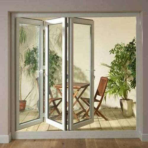 Cheap Upvc Bi Fold Patio Doors Left Hand Hinged H 2090mm X W 2390mm