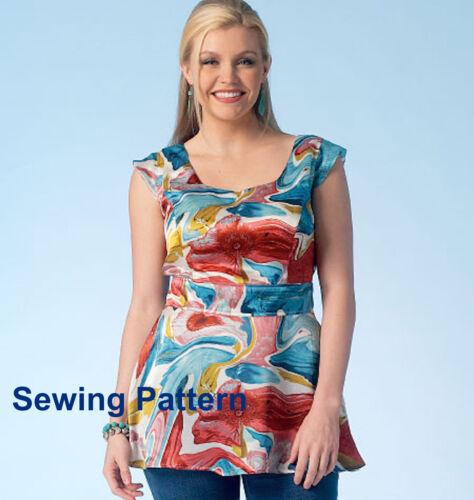 Kwik Sew k4114 pattern-femmes/'s tops-NEUF-TAILLES 1x 4x