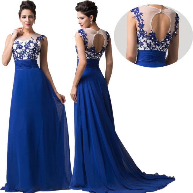 FREE SHIP~ Homecoming LONG Party Bridesmaid Evening Cocktail Wedding Prom Dress