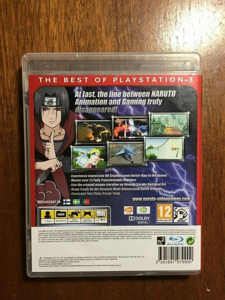 Naruto Ultimate Ninja Storm, PS3, anden genre