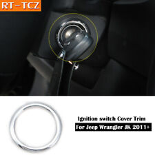 For 2011 2017 Jeep Patriot Compass 10 15 Chrome Ignition Switch Ring Cover Trim Fits 2012 Jeep Patriot